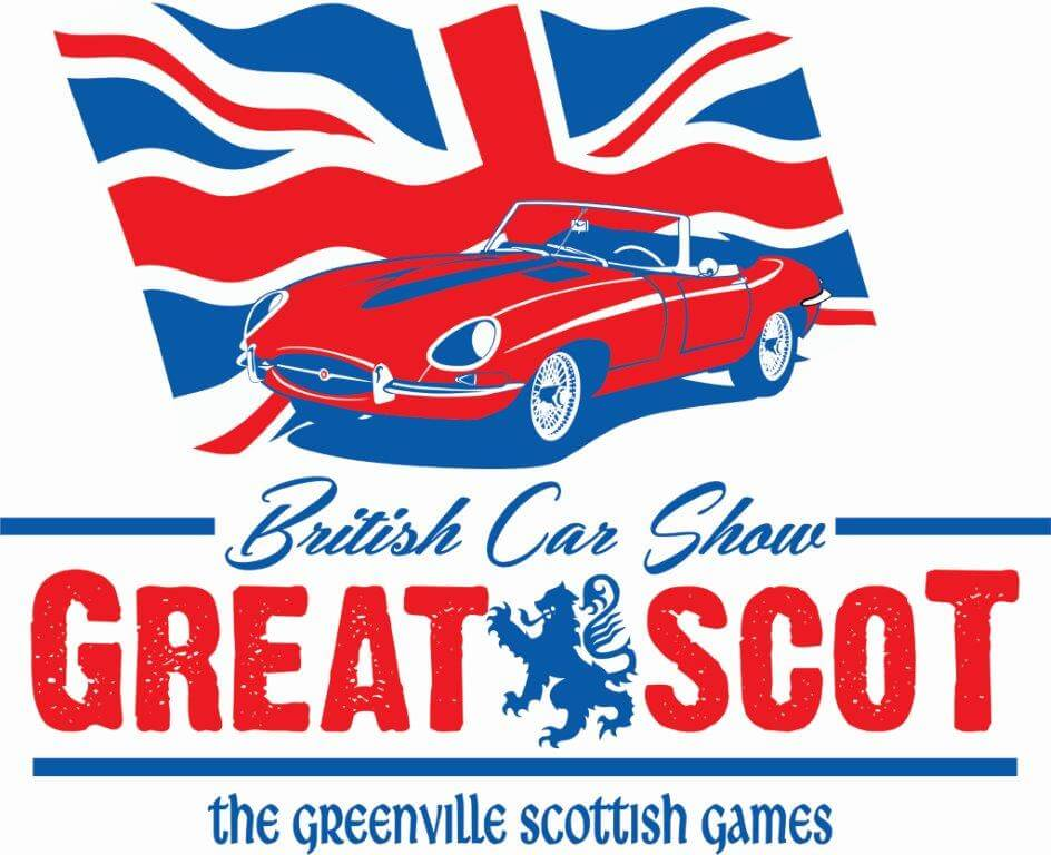 British Car Show Gallabrae Scottish Games - British car show
